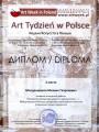 Диплом лауреата международной выставки-конкурса в Польше