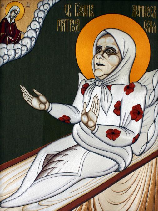 Св. Блаженная Матрона Анемнясевская (Рязанская)