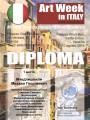 Диплом лауреата международной выставки-конкурса в Венеции. 2014 год